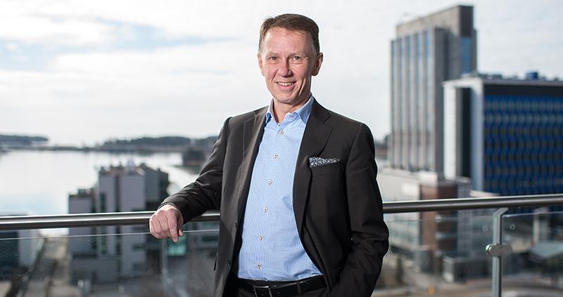 Juha Väänänen taler om interne processer